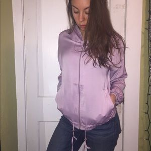 Forever 21 Jackets & Coats - Lavender zip-up jacket
